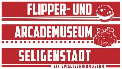 Flipper- und Arcademuseum Seligenstadt Retina Logo